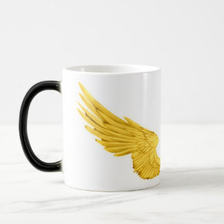Falln Golden Angel Wings Magic Mug