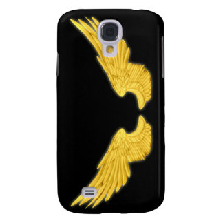 Falln Golden Angel Wings Samsung Galaxy S4 Cover