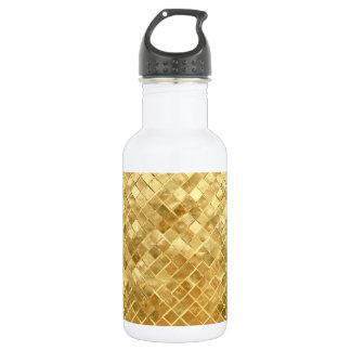 Falln Golden Checkerboard 532 Ml Water Bottle