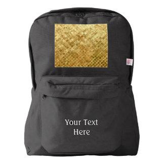 Falln Golden Checkerboard Backpack