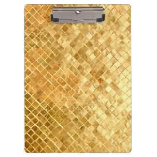 Falln Golden Checkerboard Clipboard