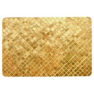 Falln Golden Checkerboard Floor Mat