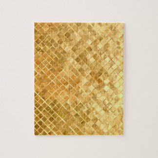 Falln Golden Checkerboard Jigsaw Puzzle