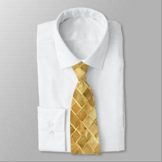Falln Golden Checkerboard Tie