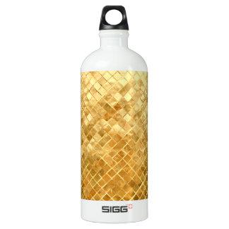 Falln Golden Checkerboard Water Bottle