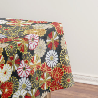 Falln Golden Chrysanthemums Tablecloth