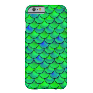 Falln Green Blue Scales Barely There iPhone 6 Case