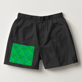 Falln Green Blue Scales Boxers