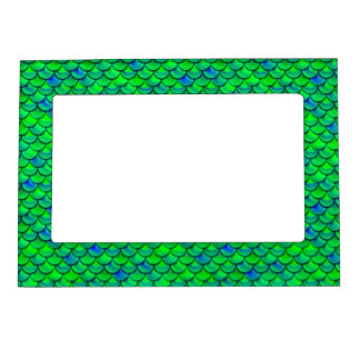 Falln Green Blue Scales Magnetic Frame