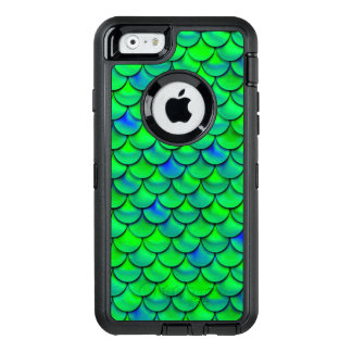 Falln Green Blue Scales OtterBox iPhone 6/6s Case