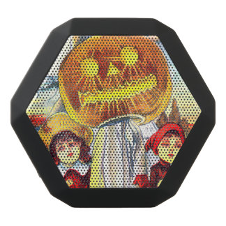 Falln Halloween Pumpkin Ghost Black Bluetooth Speaker