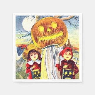 Falln Halloween Pumpkin Ghost Disposable Napkin