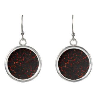 Falln Hot Lava Earrings