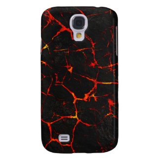 Falln Hot Lava Galaxy S4 Covers