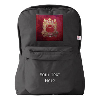 Falln Ink Stained Crimson Backpack