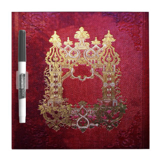 Falln Ink Stained Crimson Dry Erase Board
