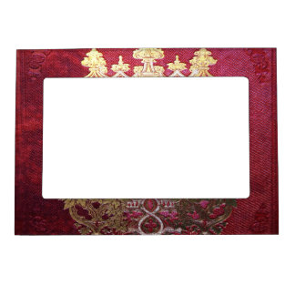 Falln Ink Stained Crimson Magnetic Frame