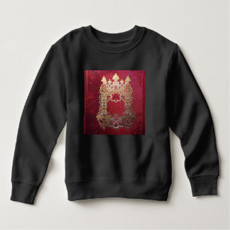 Falln Ink Stained Crimson Sweatshirt