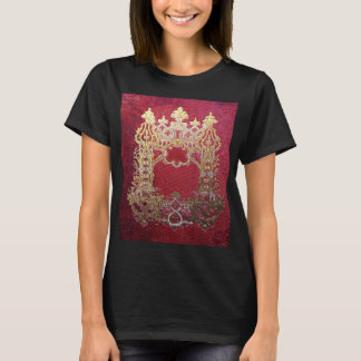 Falln Ink Stained Crimson T-Shirt