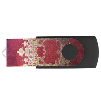 Falln Ink Stained Crimson USB Flash Drive