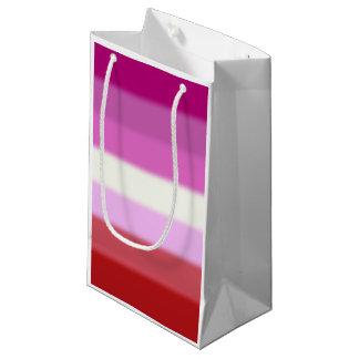 Falln Lesbian Pride Flag Small Gift Bag