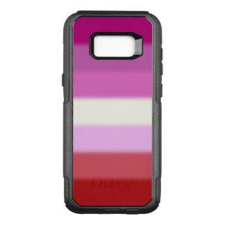 Falln Lesibian Pride Flag OtterBox Commuter Samsung Galaxy S8+ Case
