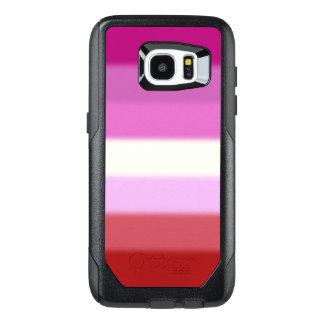 Falln Lesibian Pride Flag OtterBox Samsung Galaxy S7 Edge Case