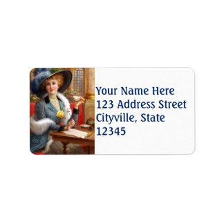 Falln Letters And Tea Label