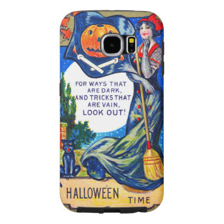 Falln Look Out Halloween Time Samsung Galaxy S6 Cases