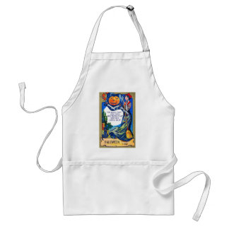 Falln Look Out Halloween Time Standard Apron