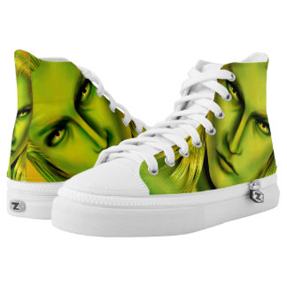 Falln Male Forest Elf Printed Shoes