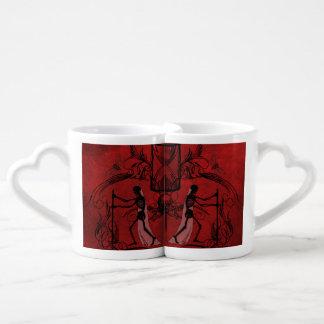 Falln Memento Mori Coffee Mug Set