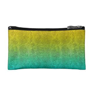 Falln Ocean Sunrise Glitter Gradient Cosmetic Bags