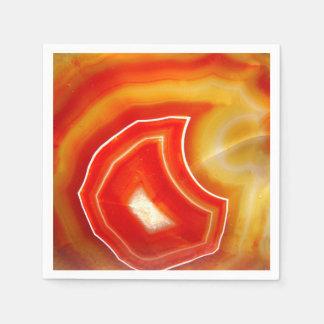 Falln Orange Agate Disposable Serviette
