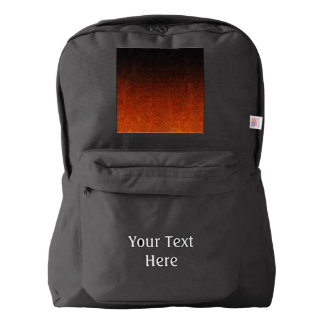 Falln Orange & Black Glitter Gradient Backpack