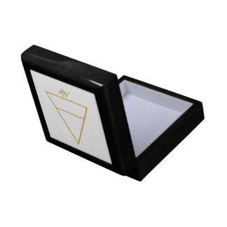 Falln Pagan Air Element Symbol Small Square Gift Box