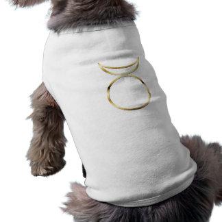 Falln Pagan Horned God Symbol Sleeveless Dog Shirt