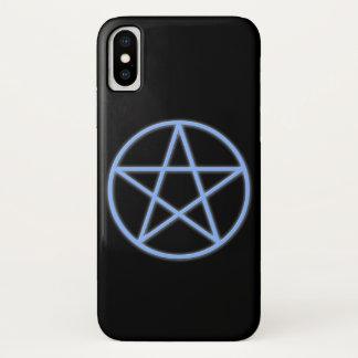 Falln Pagan Pentacle Symbol iPhone X Case