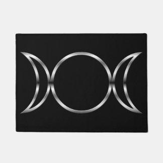 Falln Pagan Triple Goddess Symbol Doormat