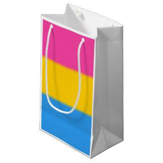 Falln Pansexual Pride Flag Small Gift Bag