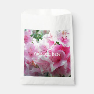Falln Pink Floral Blossoms Favour Bag
