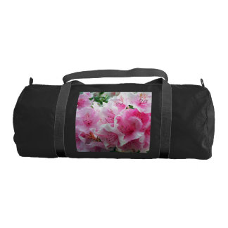 Falln Pink Floral Blossoms Gym Bag