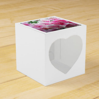 Falln Pink Floral Blossoms Party Favour Box