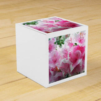 Falln Pink Floral Blossoms Party Favour Boxes