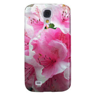 Falln Pink Floral Blossoms Samsung Galaxy S4 Case