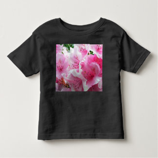 Falln Pink Floral Blossoms Toddler T-Shirt