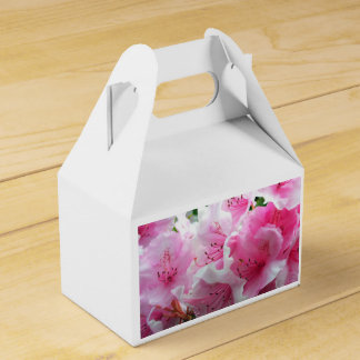 Falln Pink Floral Blossoms Wedding Favour Box