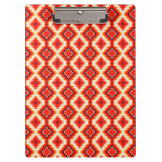 Falln Psychedelic Sunset Clipboard