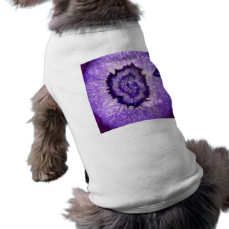 Falln Purple Agate Geode Sleeveless Dog Shirt