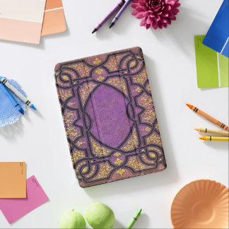 Falln Purple And Gold Vines iPad Pro Cover